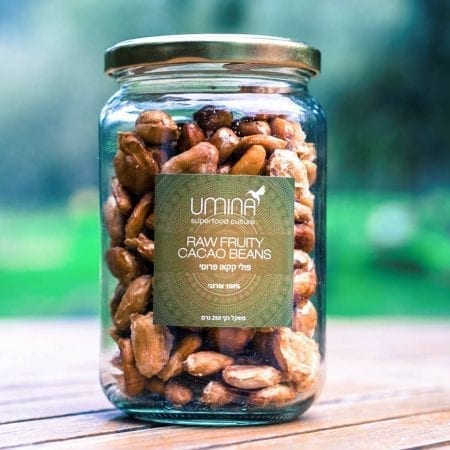 raw fuity cacao beans cover